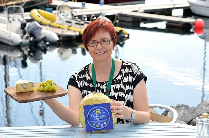 Amita Thomas Bellingham Blue Farmhouse Cheese wins at Irish Food Awards 2012